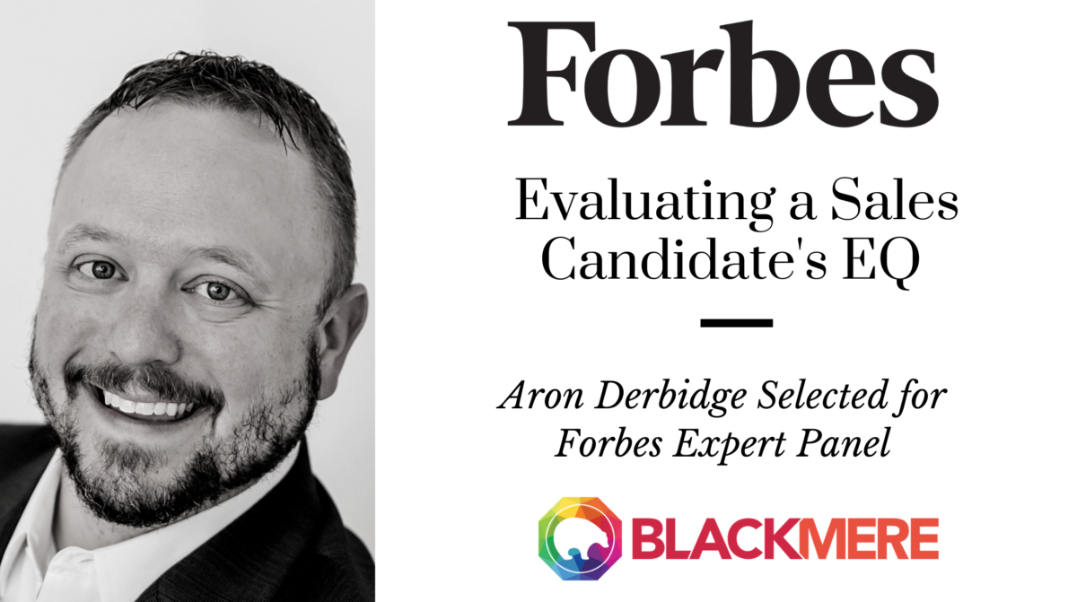 sales candidates' EQ Aron Derbidge